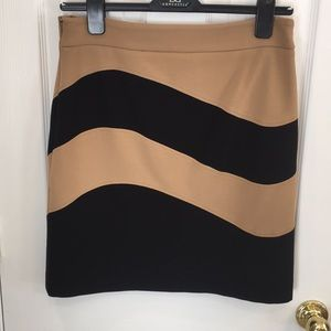 Etcetera Black and Tan skirt